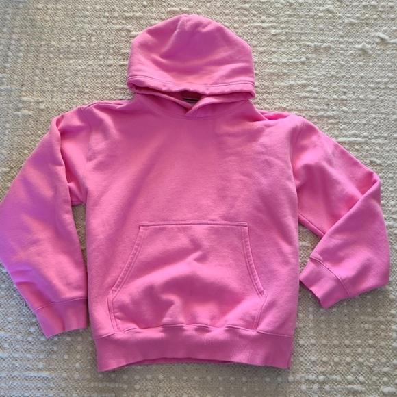 TNA / Aritzia Hot Pink Fleece Hoodie, Size Large